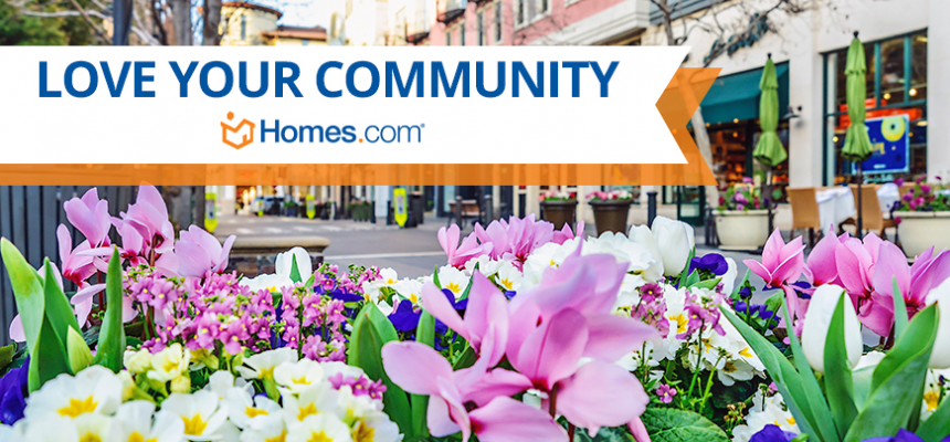 Love your Community Homes.com Flowers