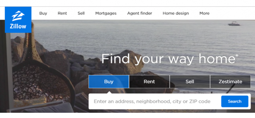 Zillow search bar syndication with REcolorado