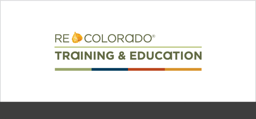 REcolorado Real Estate Broker Training & Education