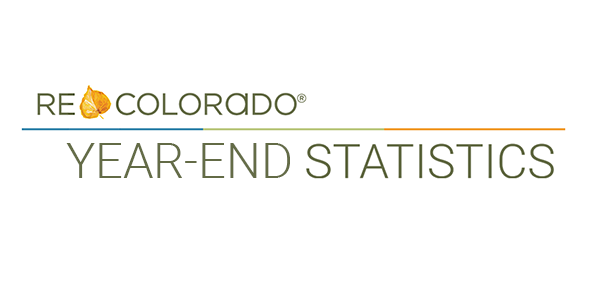 Year-end statistics REcolorado Real Estate Market Colorado Homes