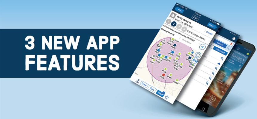 RPR app exciting new features realtor