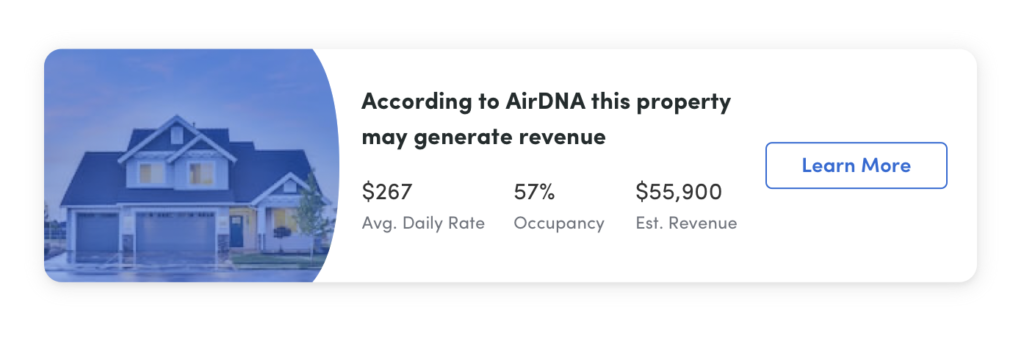 Product Details Page AirDna
