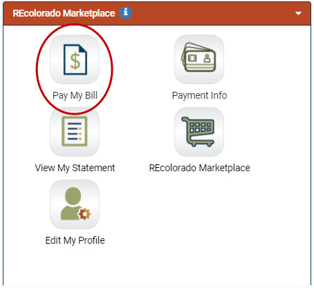 REcolorado CONNECT Real Estate Billing Preferences