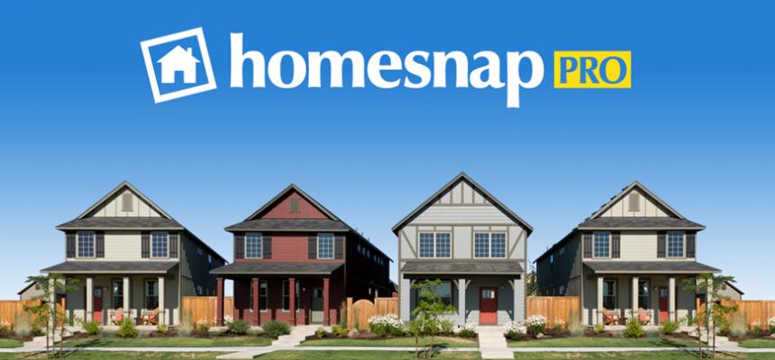 Homesnap Pro Row of Houses
