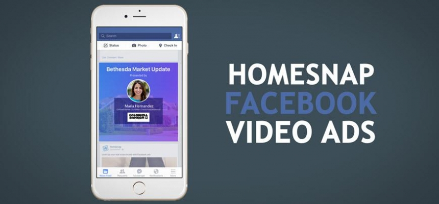 Homesnap Facebook Video Ads