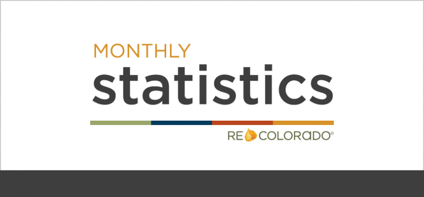 Monthly Housing Market Statistics from REcolorado