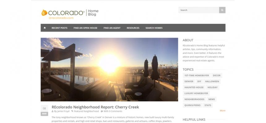 REcolorado Home Blog Real Estate