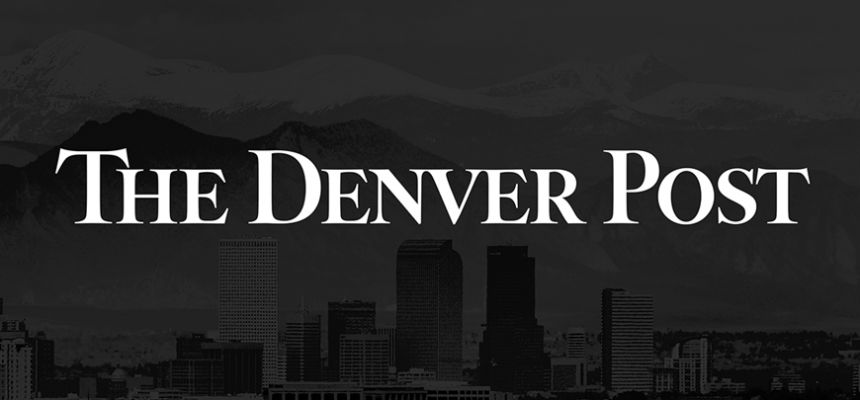 The Denver Post Black Skyline