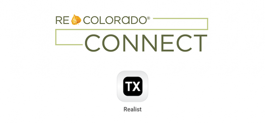 REcolorado Connect and Realist logos