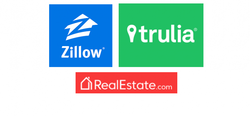 Zillow Trulia Real Estate Logos