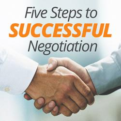five steps to successful negotiation