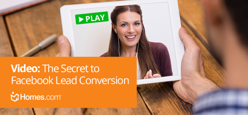 Video: Secret to Facebook Lead Conversion