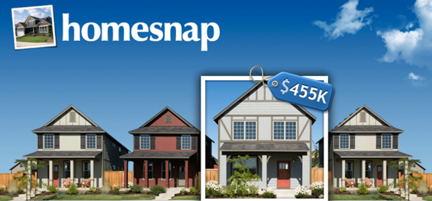 Homesnap home search app
