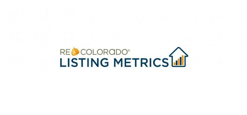 REcolorado Listing Metrics