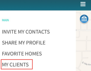 My Clients New Feature ArriveHome Showing App