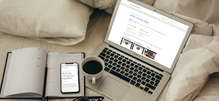 recolorado online training resources laptop phone