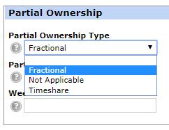 Partial Ownership field REcolorado Matrix MLS