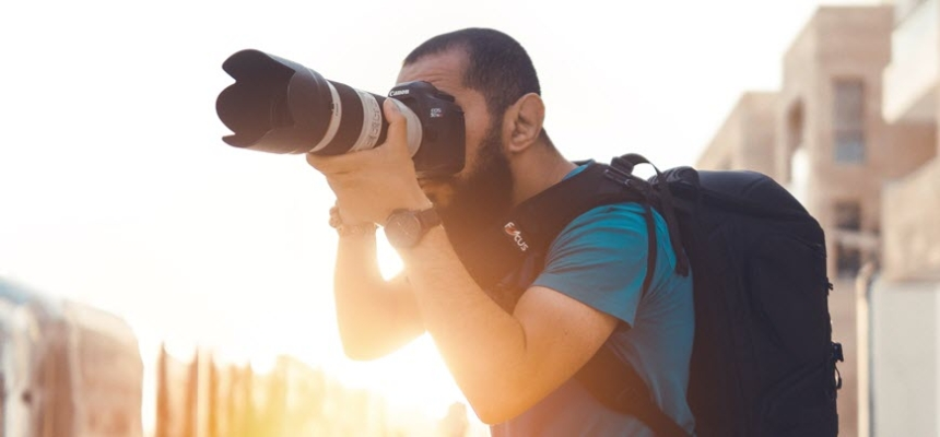 photographer camera home photo copyright