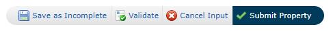 REcolorado Matrix Listing Input Button Bar