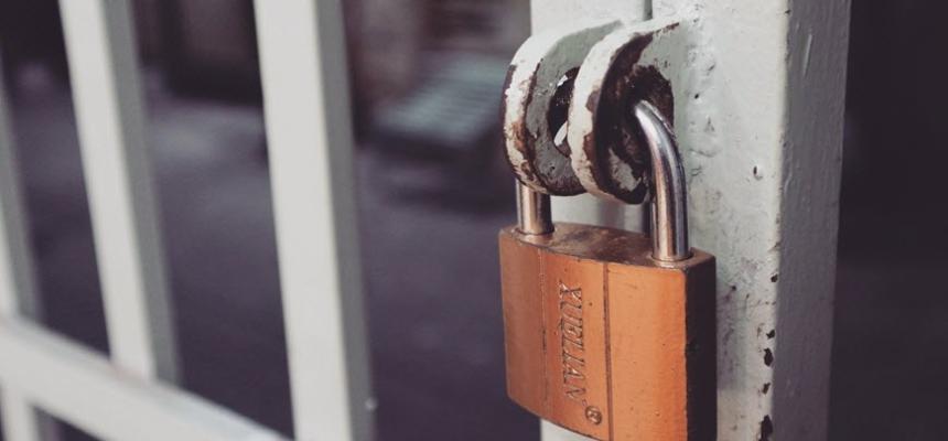 Privacy lock gate