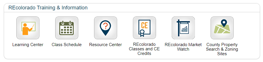 REcolorado CONNECT Training and Information
