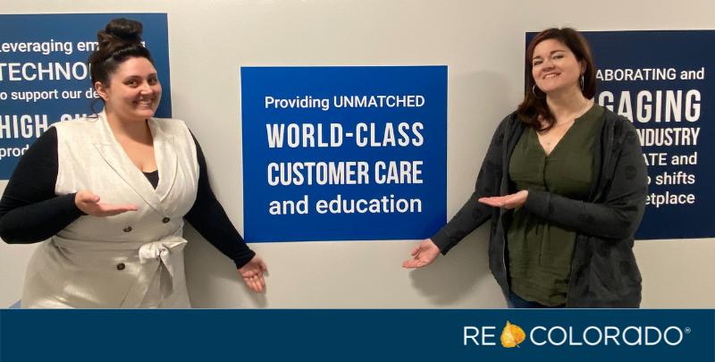 REcolorado employees World Class Customer Care
